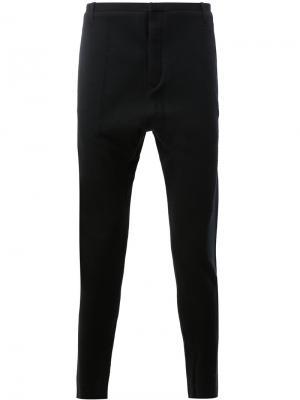 Узкий брюки строгого кроя Label Under Construction. Цвет: чёрный
