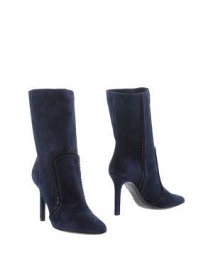 Полусапоги и высокие ботинки TAMARA MELLON. Цвет: темно-синий