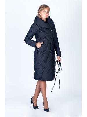 Пальто FREYA. Цвет: черный