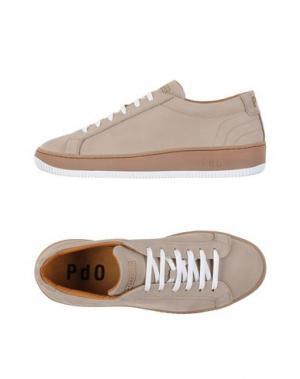 Низкие кеды и кроссовки PANTOFOLA D'ORO. Цвет: голубиный серый
