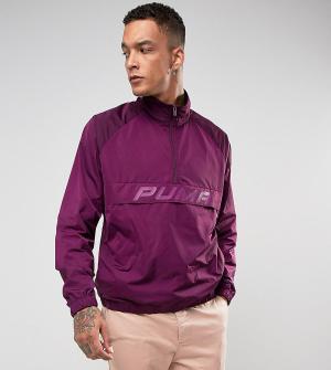 Puma Фиолетовая спортивная куртка с молнией эксклюзивно для ASOS 57660. Цвет: фиолетовый