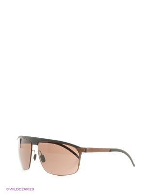 Солнцезащитные очки Mercedes Benz. Цвет: оранжевый