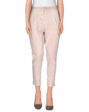 Повседневные брюки MET MIAMI COCKTAIL. Цвет: бежевый