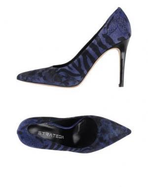 Туфли STRATEGIA. Цвет: фиолетовый