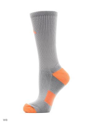 Носки ANTA. Цвет: серый, оранжевый