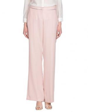Повседневные брюки MISS MONEY. Цвет: светло-розовый