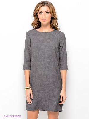 Платье TOM FARR. Цвет: темно-серый