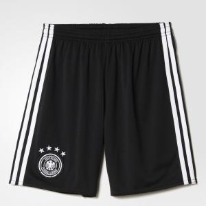 Домашние игровые шорты сборной Германии UEFA EURO 2016  Performance adidas. Цвет: черный