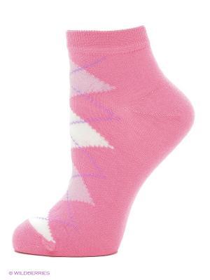 Носки Тульский трикотаж (комплект 10 пар). Цвет: белый, розовый