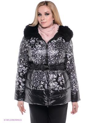 Пальто Sinta Via. Цвет: черный, темно-серый, белый
