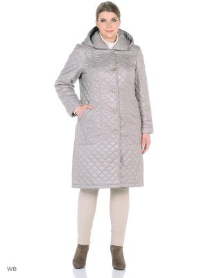 Пальто MONTSERRAT. Цвет: светло-серый