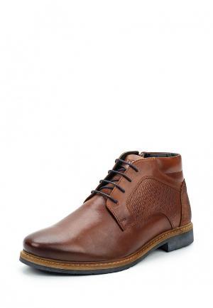 Ботинки ITI. Цвет: коричневый