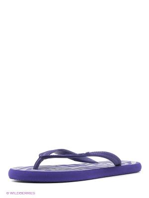 Пантолеты пляжные SOULS. Цвет: сиреневый