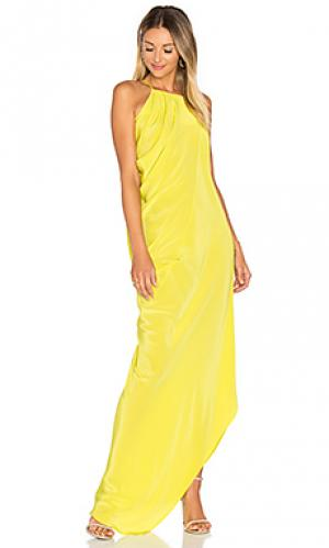 Вечернее платье satya One Fell Swoop. Цвет: зеленый