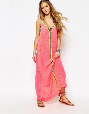 Pitusa Пляжное платье Inca. Цвет: арбуз