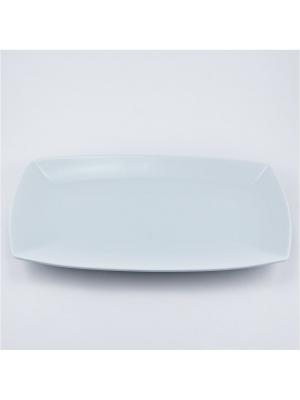 Блюдо прямоугольное 32 см. Royal Porcelain. Цвет: белый