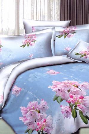 Постельное белье 1,5 сп. 50x70 Patrizia. Цвет: голубой