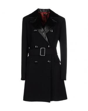 Пальто TENAX. Цвет: черный