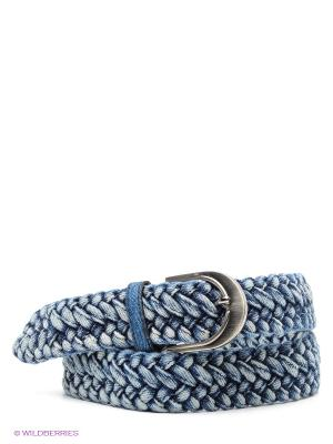 Ремень Подарки. Цвет: синий, голубой
