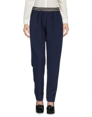 Повседневные брюки EMPATHIE. Цвет: темно-синий