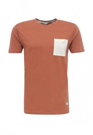 Футболка Only & Sons. Цвет: оранжевый