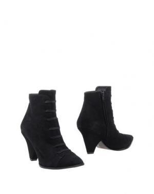 Полусапоги и высокие ботинки STEPHANE KÉLIAN. Цвет: черный