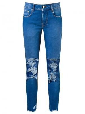Skinny jeans Amapô. Цвет: синий