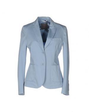 Пиджак 19.70 NINETEEN SEVENTY. Цвет: небесно-голубой