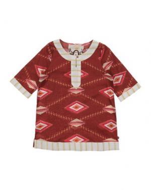Платье SCOTCH R'BELLE. Цвет: какао