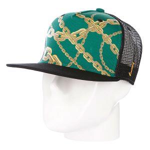 Бейсболка True Spin Chains Green TrueSpin. Цвет: зеленый,черный