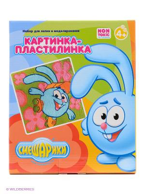 Картинка-пластилинка Смешарики Крош Centrum. Цвет: синий