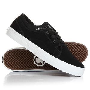 Кеды кроссовки низкие  Aversa Black Suede DVS. Цвет: черный