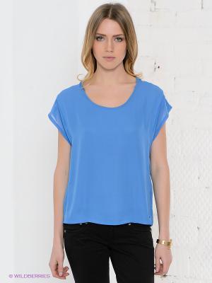 Блузка PEPE JEANS LONDON. Цвет: голубой