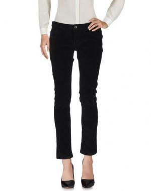 Повседневные брюки HISTORIC. Цвет: черный