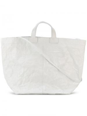 Сумка-шоппер Zilla. Цвет: белый