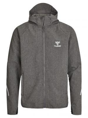Куртка CLASSIC BEE JORI SOFTSHELL HUMMEL. Цвет: серый