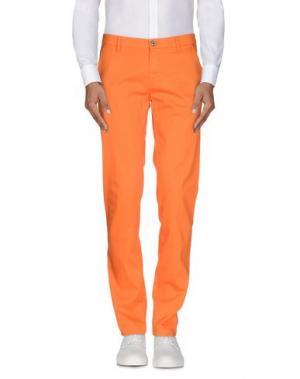 Повседневные брюки MASON'S. Цвет: оранжевый
