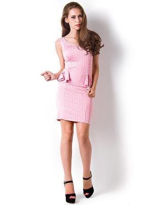 Платье Vika Smolyanitskaya. Цвет: розовый