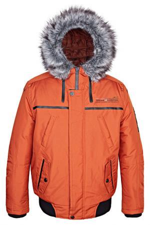 Куртка Point Zero. Цвет: оранжевый
