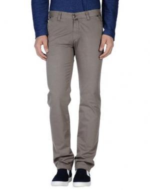 Повседневные брюки BETWOIN. Цвет: серый