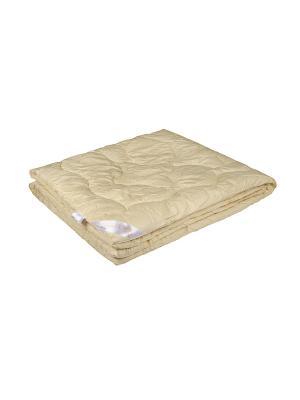 Одеяло Меринос 200х220 ECOTEX. Цвет: бежевый