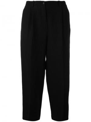 Укороченные брюки Nehera. Цвет: чёрный