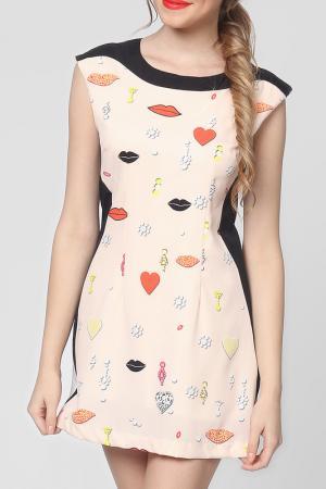 Платье EUFORIA. Цвет: розовый