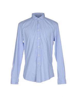 Pубашка BRIAN DALES. Цвет: небесно-голубой