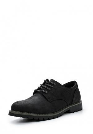 Туфли Escan. Цвет: черный