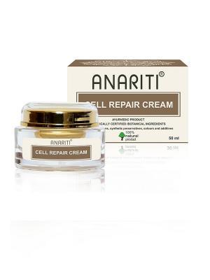 Крем для глубокого восстановления зрелой кожи, 50мл ANARITI. Цвет: бежевый