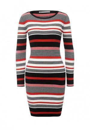 Платье Only. Цвет: разноцветный