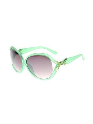 Солнцезащитные очки Gusachi. Цвет: зеленый, сиреневый