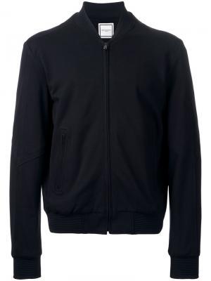 Куртка бомбер на молнии Wooyoungmi. Цвет: чёрный