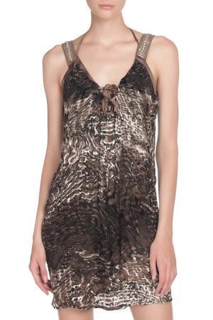 Платье LIU-JO. Цвет: коричневый